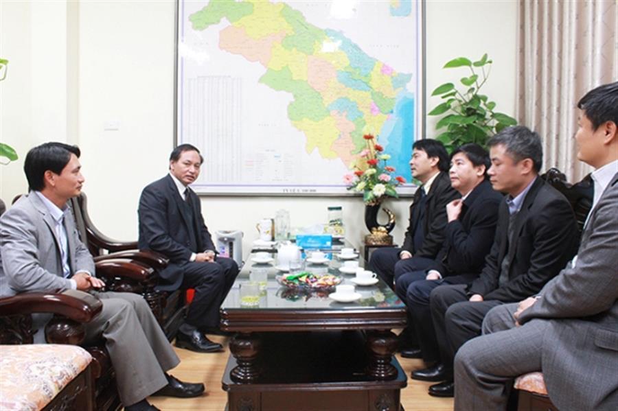 Lãnh đạo Tập đoàn Dầu khí Việt Nam thăm và chúc tết Lãnh đạo tỉnh Thanh Hóa và các đơn vị dầu khí tại Nghi Sơn : Tin tức