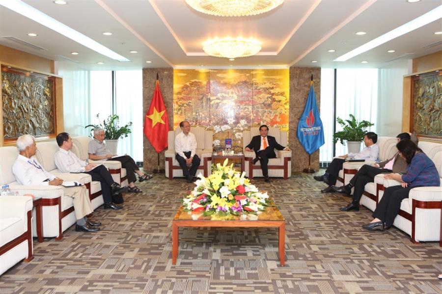 Hội Dầu khí Việt Nam làm việc với PVEP : Tin tức