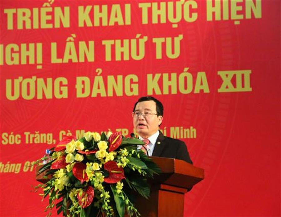 Triển khai thực hiện nghị quyết Hội nghị lần thứ 4 Ban Chấp hành Trung ương  : Tin tức