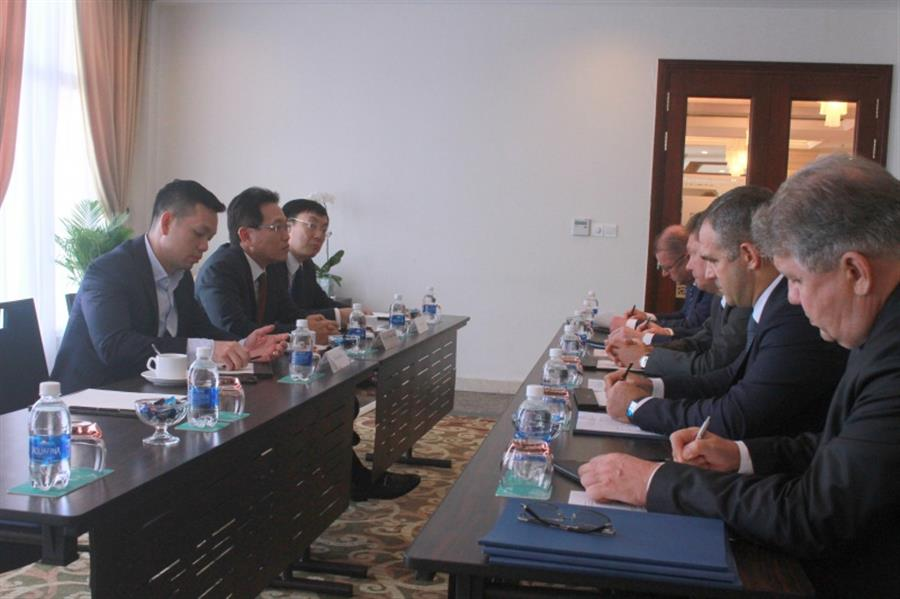 TGĐ Nguyễn Vũ Trường Sơn làm việc với lãnh đạo Gazprom, Premier Oil PLC và SKK Migas : Tin tức