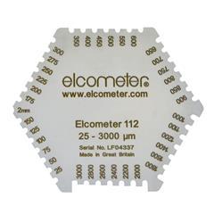 Thước đo độ dày sơn ướt - Elcometer 112 B112-1  & 3236 Hexagonal Wet Film Combs : Sản phẩm