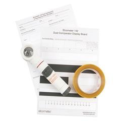 Băng kiểm tra độ bụi E142 Elcometer - Elcometer 142 ISO 8502-3 Dust Tape Test Kit : Sản phẩm