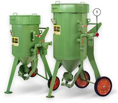 PORTABLE ABRASIVE BLASTING MACHINES AND MACHNINE SPARES : Sản phẩm