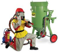 PORTABLE ABRASIVE BLASTING EQUIPMENT PACKAGES : Sản phẩm